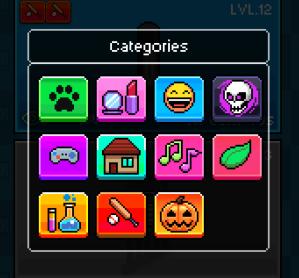 tuber simulator categories