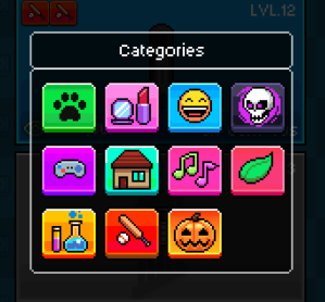 tuber simulator categories