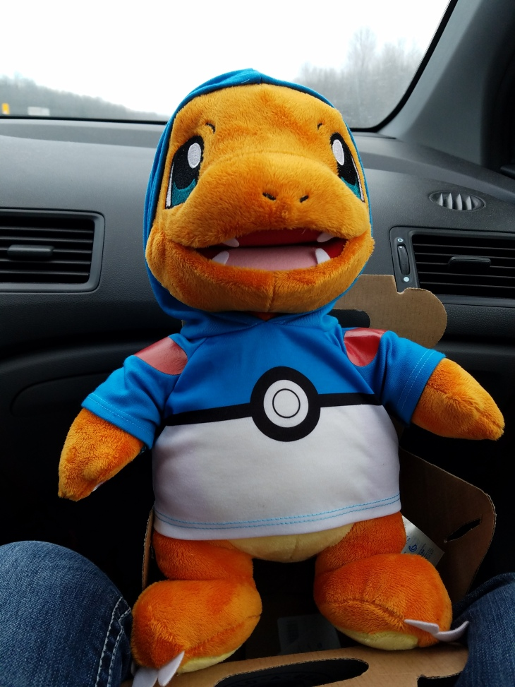 build a bear charmander