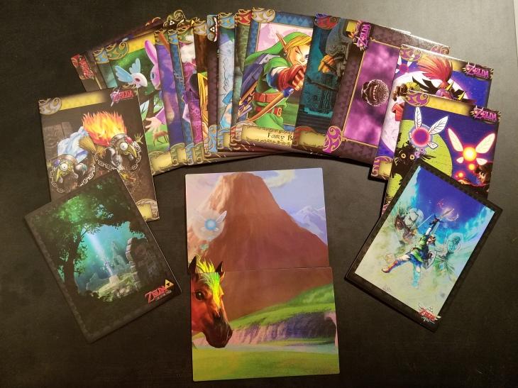 Zelda trading cards