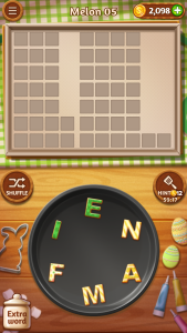 Word Cookies game play