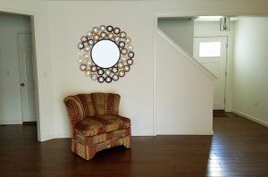 round pokeball mirror