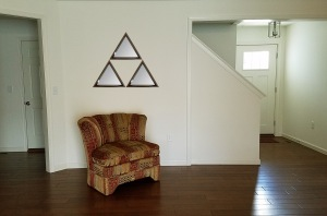 triangle triforce mirror