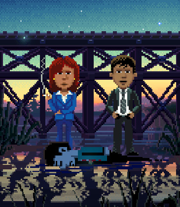 thimbleweed park Ray and Reyes