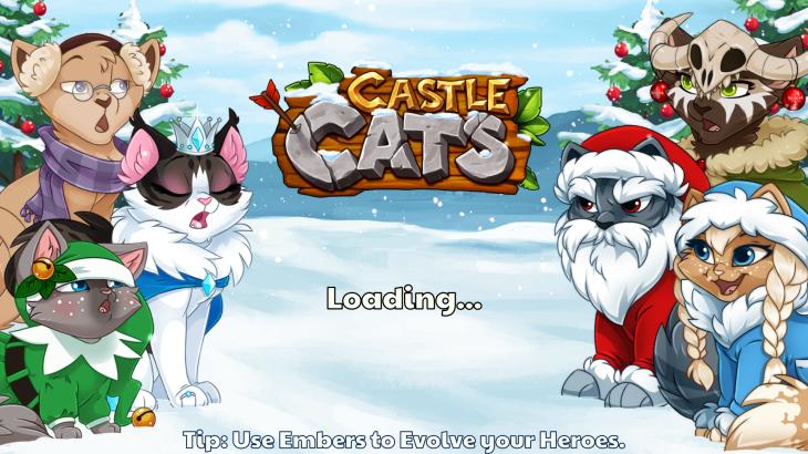 castle cats load screen