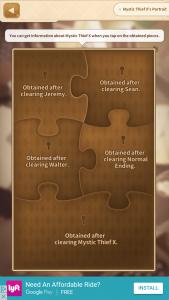 Mystic Thief X Identity puzzle