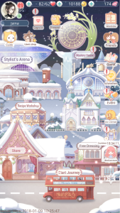 Love Nikki Map