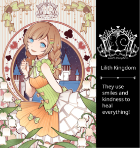 Lilith Kingdom sweet lolita style