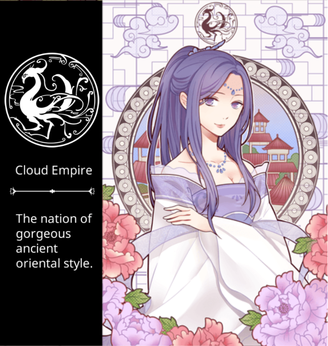 Cloud Empire Ancient Japanese style