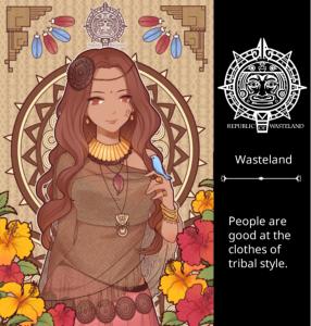 Wasteland Etherial Bohemian Style