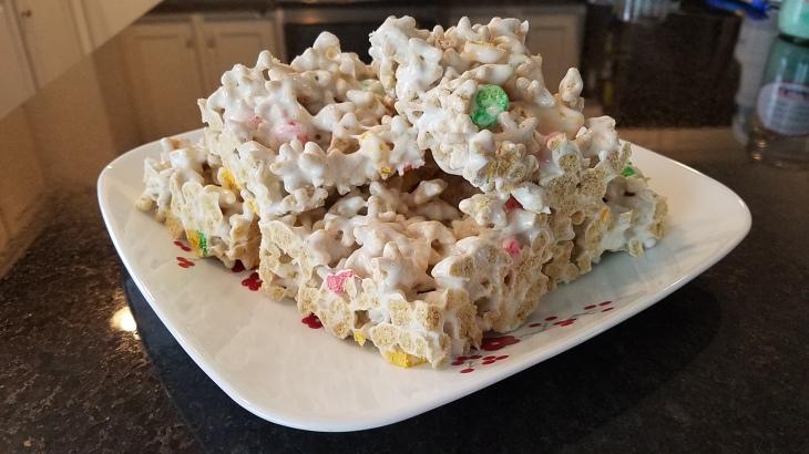 mario cereal treats