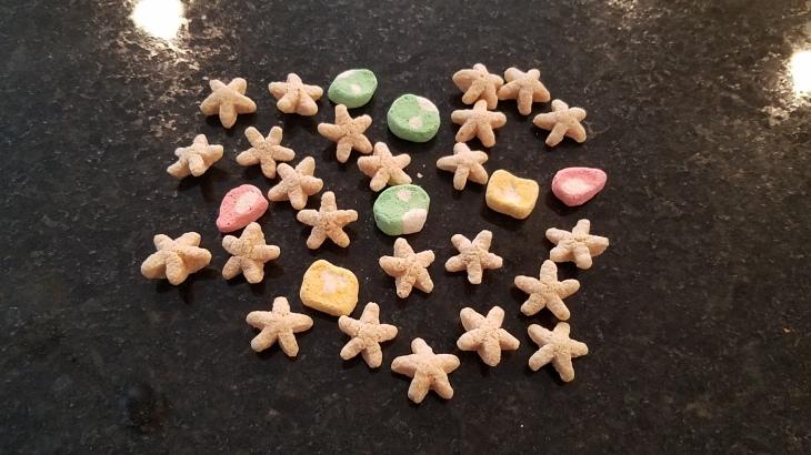 mario cereal pieces