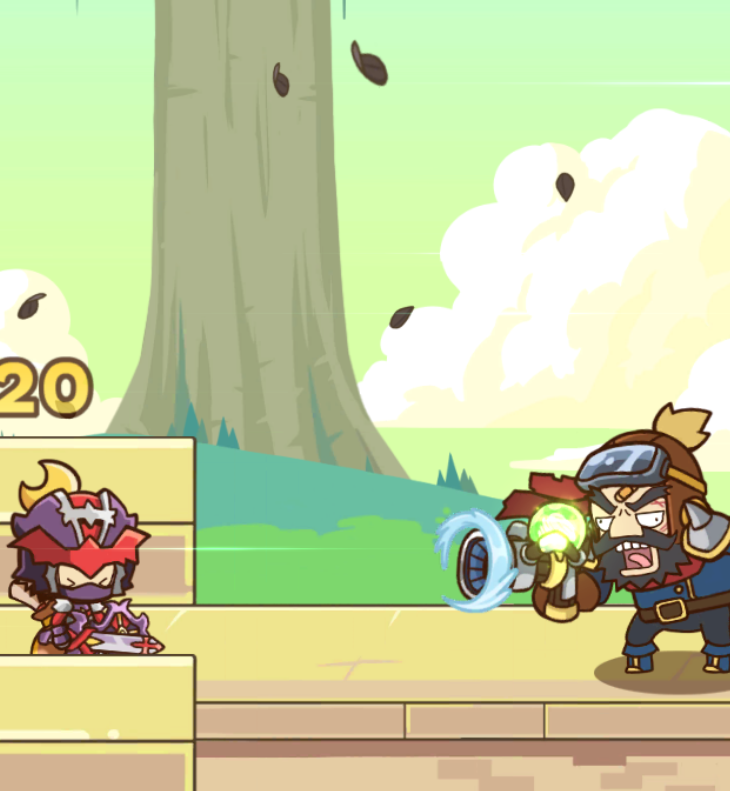 Postknight boss fight