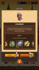Postknight Blitz Charge