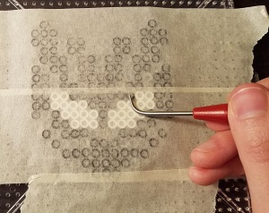 perler tape burnishing