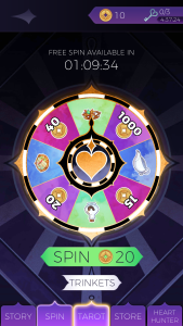 the arcana wheel of fate