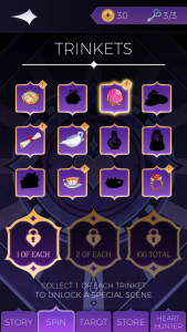 the arcana trinkets