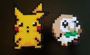 finished perlers