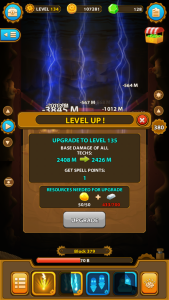 deep town leveling